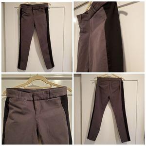 Banana Republic, Sloan Tuxedo Pants, Asphalt